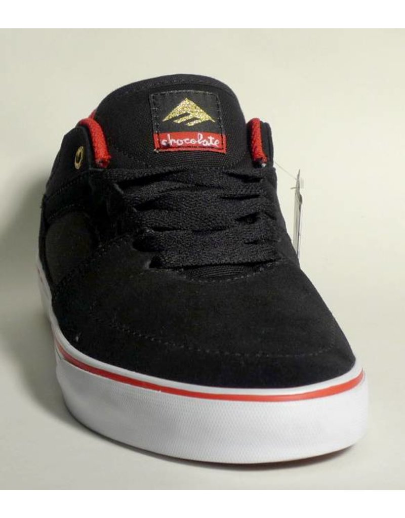 Emerica Emerica Hsu Vulc Low - (Chocolate) Black/Red/White