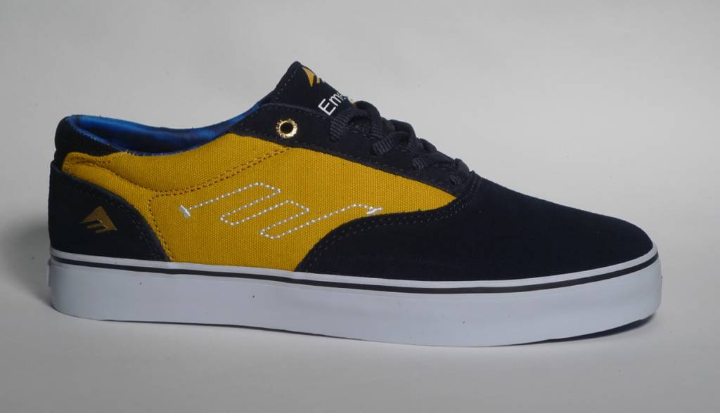 Emerica Emerica The Provost - Navy/Yellow  (size 9, 9.5, 10.5 or 11.5)