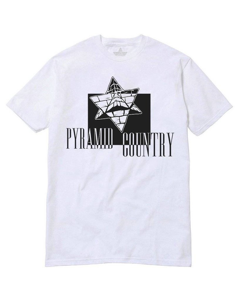 Pyramid Country Pyramid Country Obleena T-shirt - White/Black