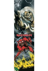 """Mob Grip Mob Grip 9"""" Iron Maiden Vol 2 Number of the Beast Sheet"""