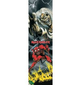 "Mob Grip Mob Grip 9"" Iron Maiden Vol 2 Number of the Beast Sheet"