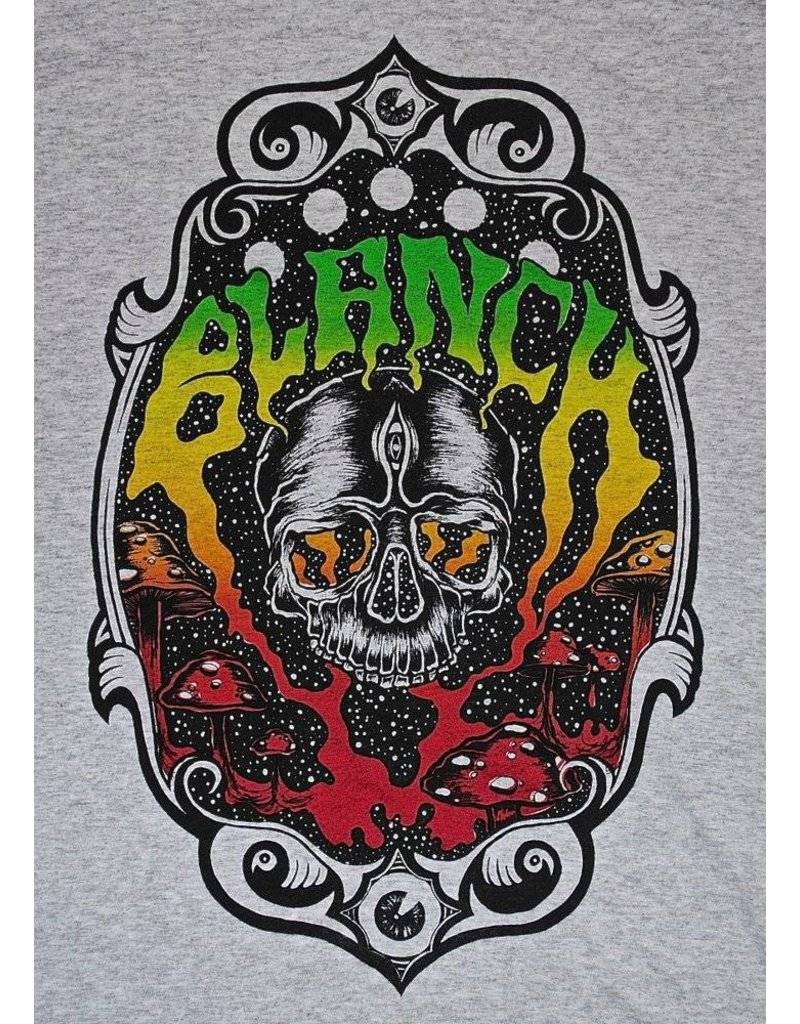 Blanch Blanch Skull Trip T-shirt - Grey