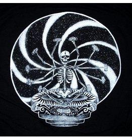 Blanch Blanch Skeleton Brew T-shirt - Black (Large)