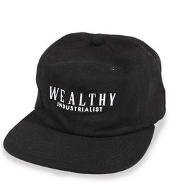 Theories Brand Theories Pennypacker 6 panel Snapback Hat - Black