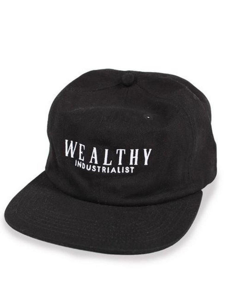 Theories Brand Theories Pennypacker 6 panel Snapback Hat - Black