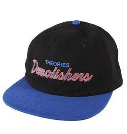 Theories Brand Theories Demolishers 6 panel Snapback Hat - Black/Royal