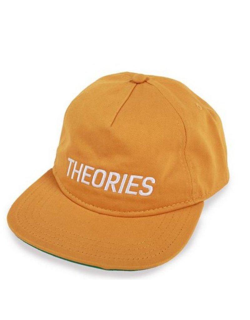 Theories Brand Theories Stamp Snapback Hat - Mustard