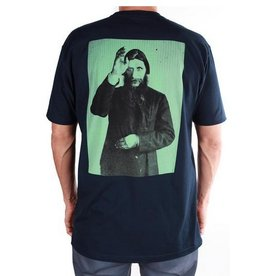 Theories Brand Theories Rasputan T-shirt - Navy/Sea (size X-Large)