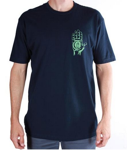 Theories Brand Theories Rasputan T-shirt - Navy/Sea (size X-Large)
