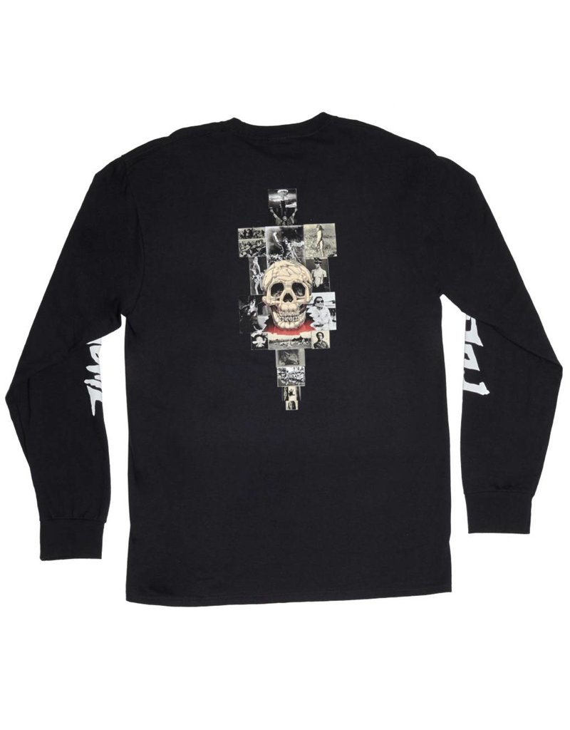 Fucking Awesome Fucking Awesome KB Collage Longsleeve T-shirt - Black