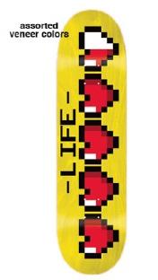JK Industries JK Industries Heart Container (Hand Screened) Deck - 8.5