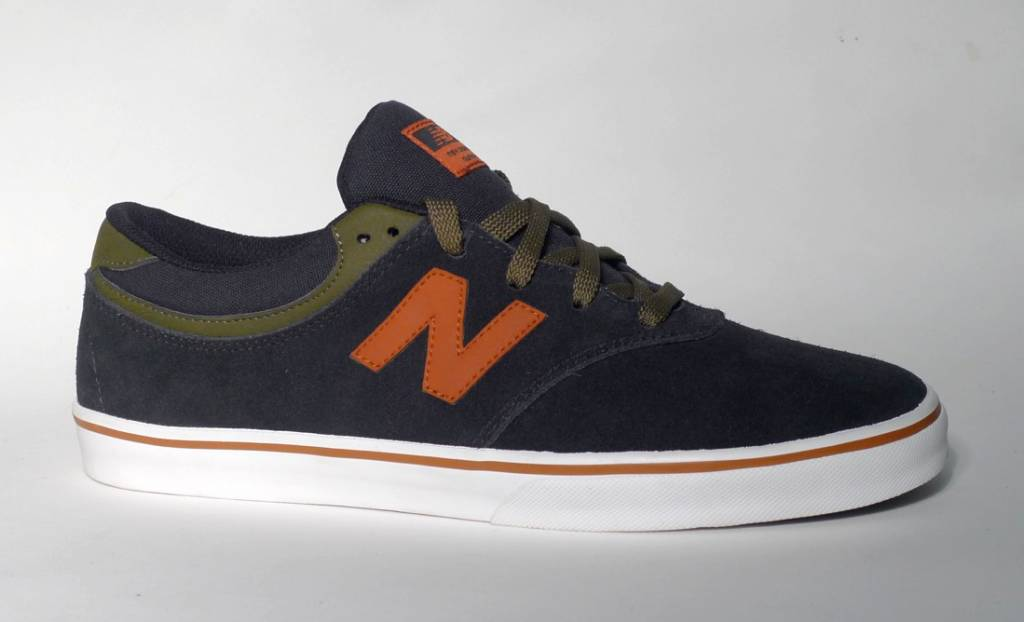 New Balance Numeric New Balance Numeric Quincy 254 - Black/Army Green/Orange (size 9.5 or 10)