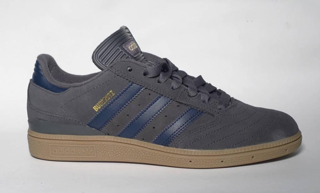 Adidas Adidas Busenitz - Grey/Collegiate Navy/Gum  (size 7, 7.5, 10.5 or 11.5)