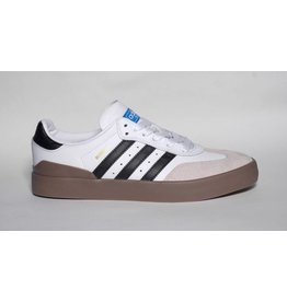 Adidas Adidas Busenitz Vulc Samba Edition - White/Black/Gum (size 8 or 11)