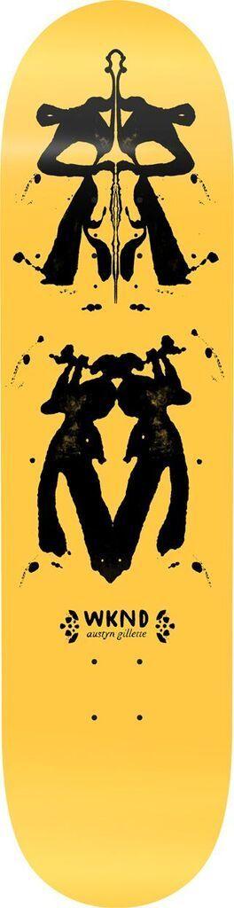 WKND brand WKND Rorschach Gillette Deck - 8.25