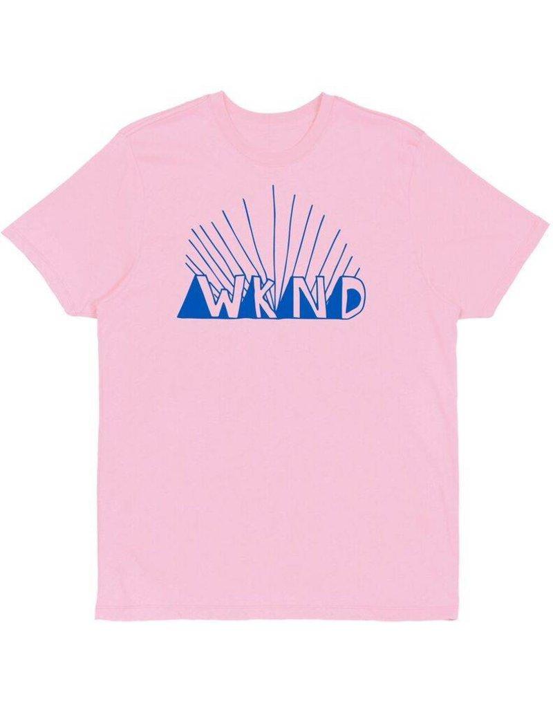WKND brand WKND Rise T-shirt - PInk (Medium)