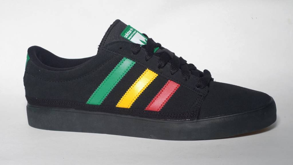 Adidas Adidas Rayado low - Black/Fairway/University Red-Sun  (sizes 9, 11.5 or 13)