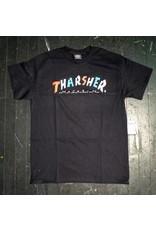 Thrasher Mag Thrasher Knock Off T-shirt - Black