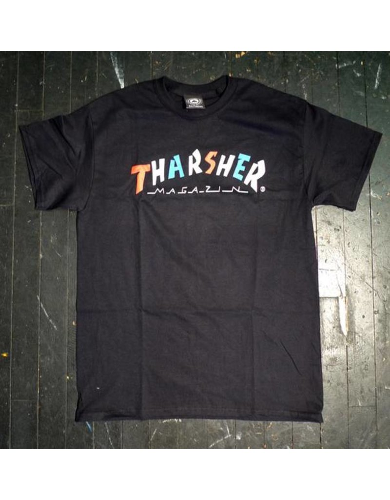 Thrasher Mag Thrasher Knock Off T-shirt - Black