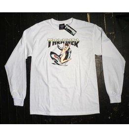 Thrasher Mag Thrasher Tattoo Longsleeve T-shirt - White