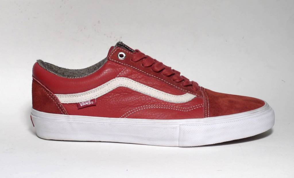 Vans Vans Old Skool Pro - Dark Red (size 8)
