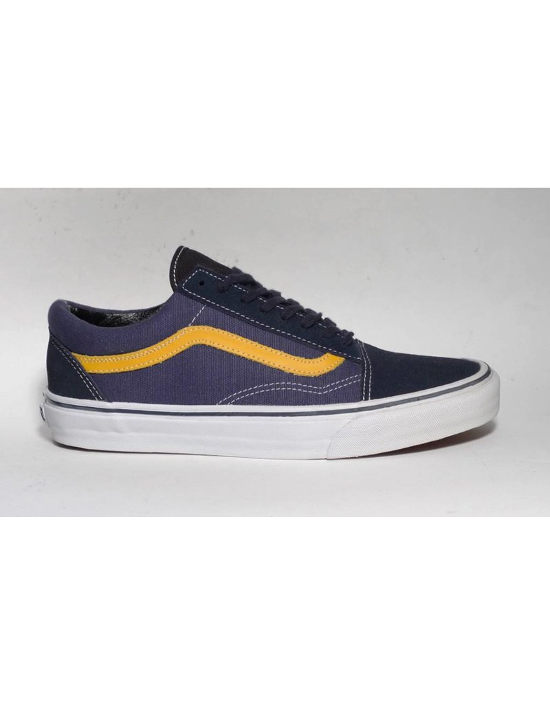 Vans Vans Old Skool - (Suede/Canvas) Total Eclipse/Golden Rod