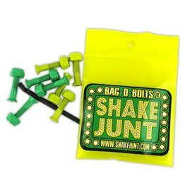 Shake Junt Shake Junt Bag-O-Bolts All Green/Yellow Hardware Allen 1""