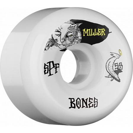Bones Wheels Bones SPF Miller Guilty Cat 58mm wheels (set of 4)