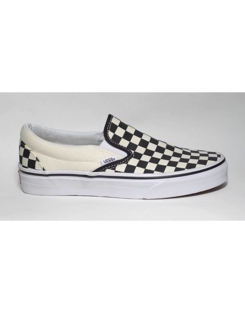 Vans Vans Slip on - Black/Off White Checkerboard (8, 8.5, 11, 12 or 13)