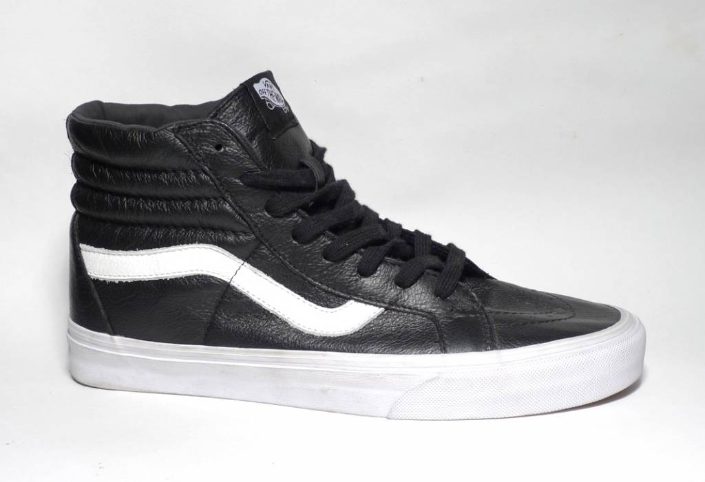 Vans Sk8-hi Reissue Premium Leather - Black/White