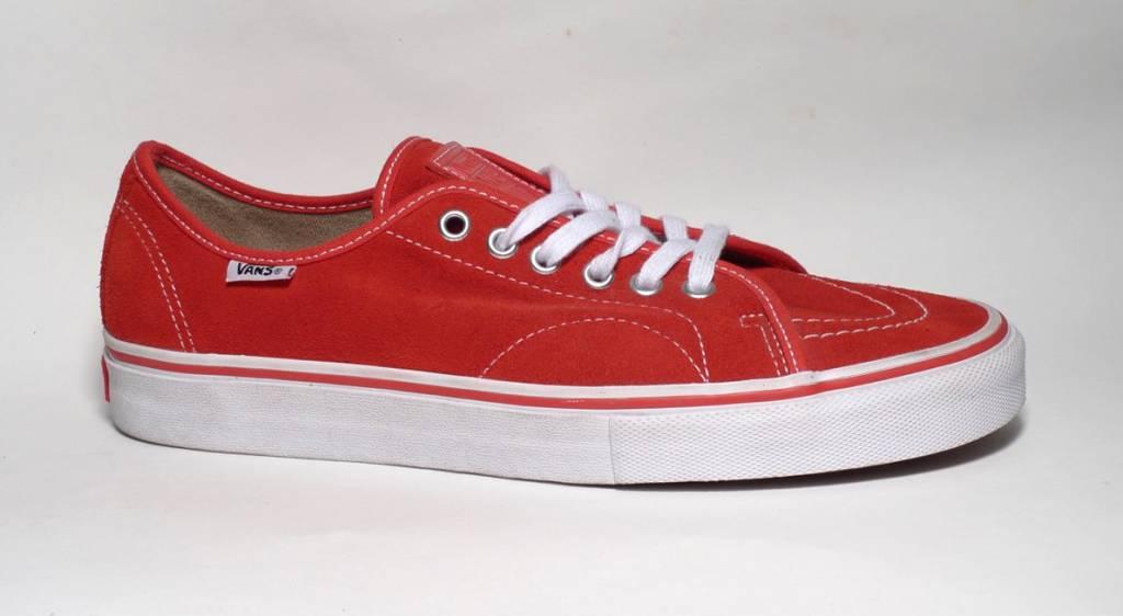 Vans Vans AV Classic Suede - Red (size 8, 10, 12 or 13)