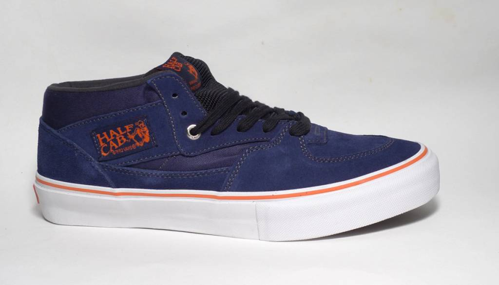 Vans Vans Half Cab Pro - Deep Blue/Bright Orange