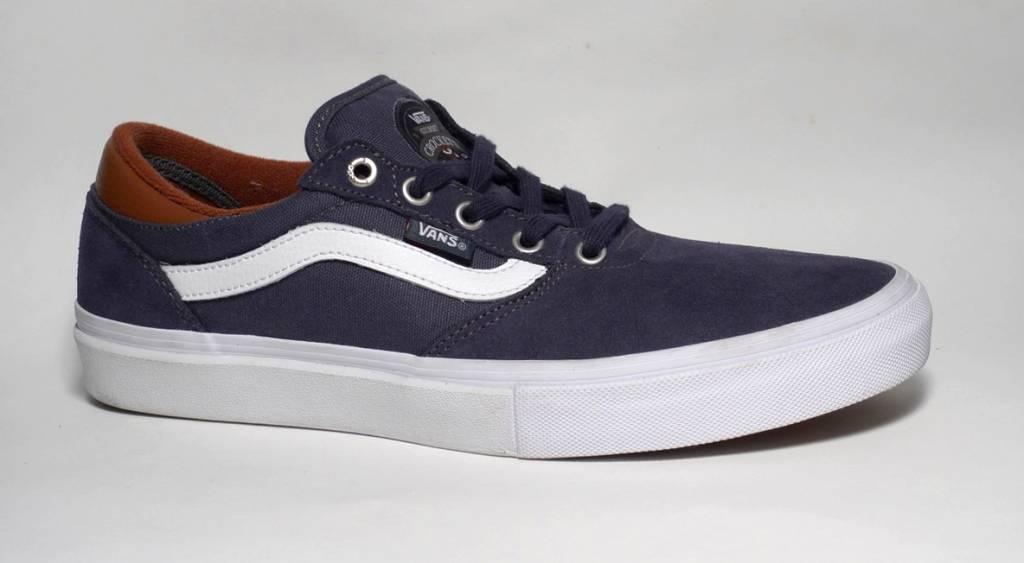 Vans Vans Gilbert Crockett Pro - Navy/White/Leather  (size 9.5 or 10.5)