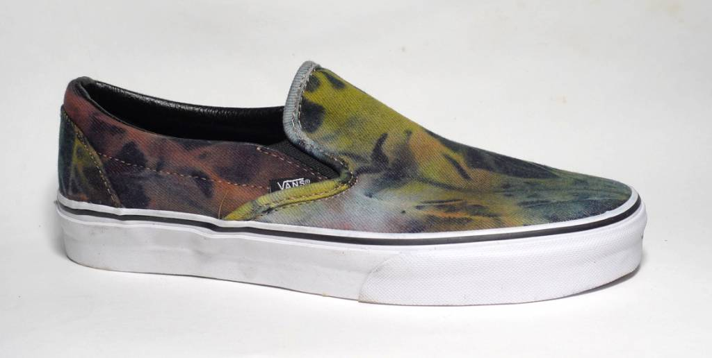 Vans Vans Slip On (Canvas Tie Dye) - Rust (size 8.5, 9, 9.5 or 11.5)