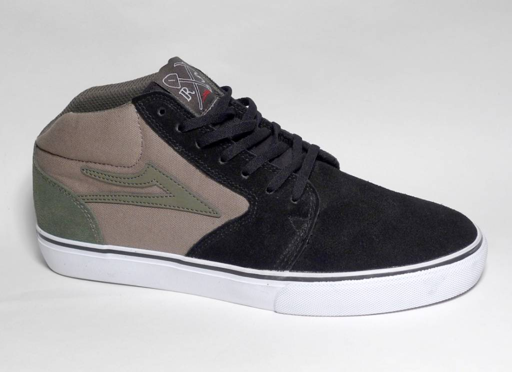 Lakai Lakai Fura High (Ronnie Sandoval) - Black/Walnut (size 9, 9.5 or 12)