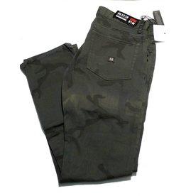 Krew Krew K Slim 5 Pocket Jeans - Camouflage