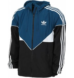 Adidas Adidas Premiere Windbreaker Black/Blunit/White (size X-Large)