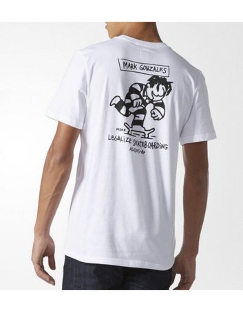 Adidas Adidas Meka Push T-shirt - White