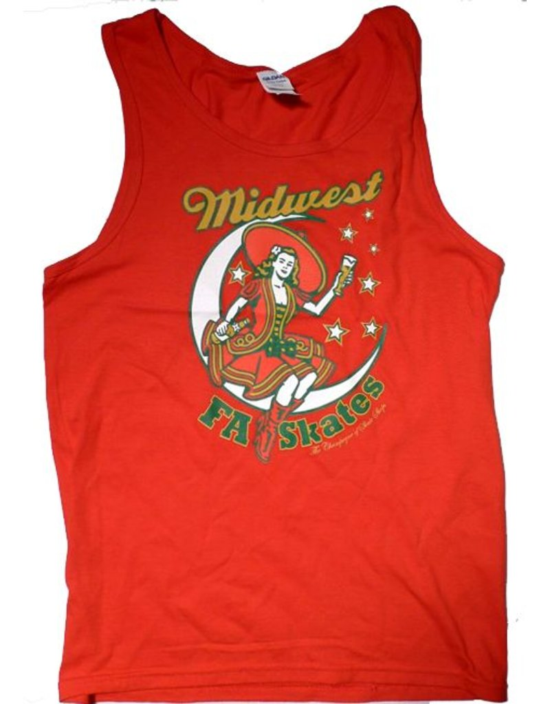 FA skates FA Midwest High Life Tank Top - Red