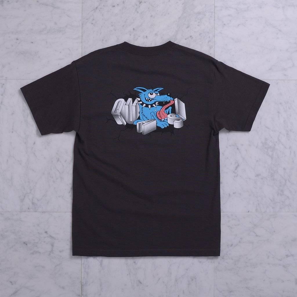 Quasi Quasi Baddog T-shirt - Tar (size X-Large)