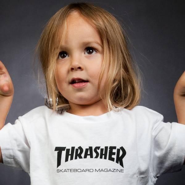 Thrasher Mag Thrasher Toddler Skate Mag T-shirt - White