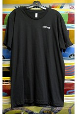 Quasi Mother Staff Embroidered T-Shirt - Black (X-Large)