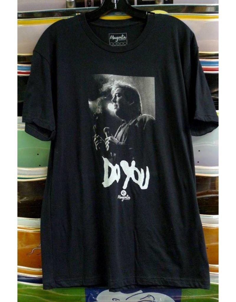 Magenta Magenta Do You Hicks T-shirt - Black