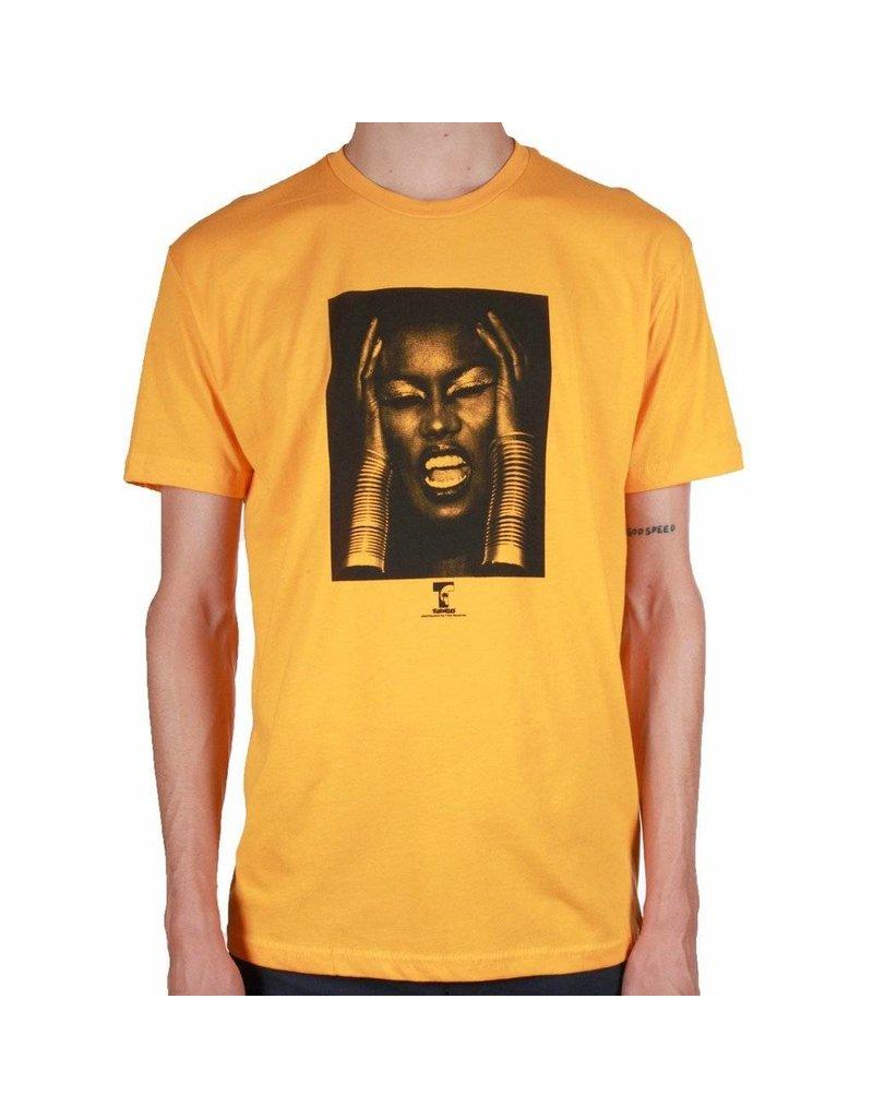 Theories Brand Theories Island Life T-shirt - Gold