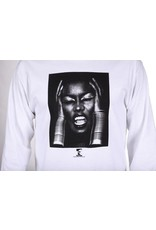 Theories Brand Theories Brand Island Life Longsleeve T-shirt - White