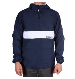 Theories Brand Theories Brand Stamp Sport Jacket - Navy/White