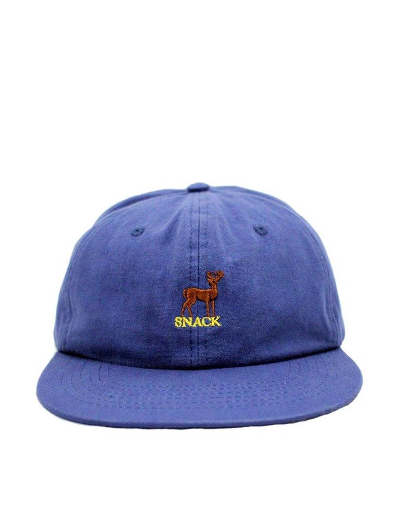 Snack Snack Buck Hat - Navy