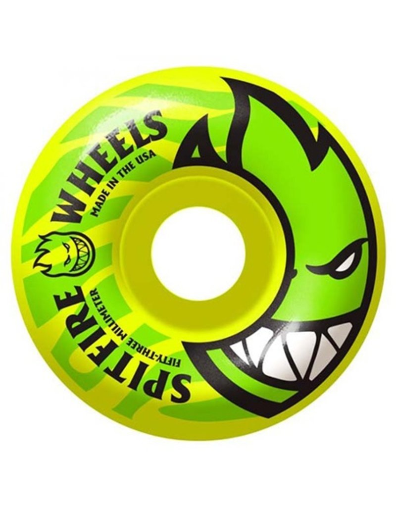 Spitfire Spitfire Electrofire Yellow 53mm 99D wheel (set of 4)