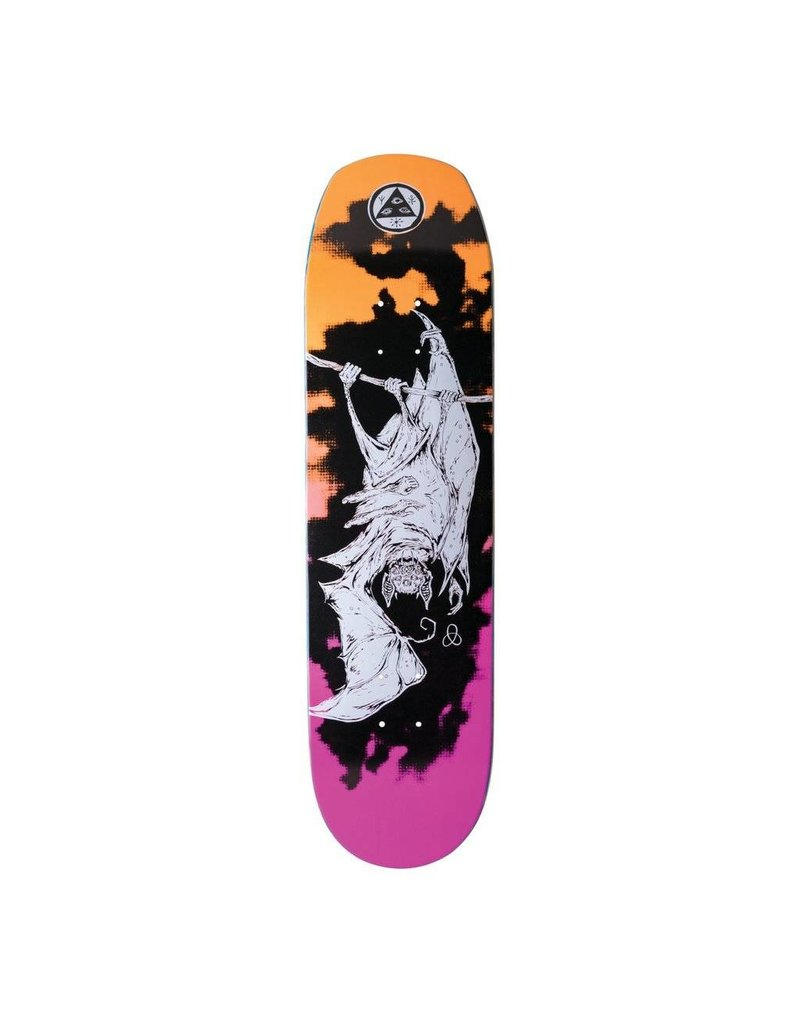 Welcome Welcome Infintely Batty on Helm of Awe 2.0 Orange/Pink Deck - 8.38 x 32.38