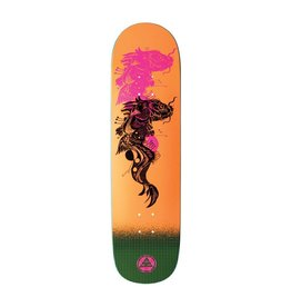 Welcome Welcome Koi Boi on Big Bunyip Neon Orange Deck - 8.5 x 32.25